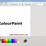 KolourPaint : Microsoft Paint For Linux