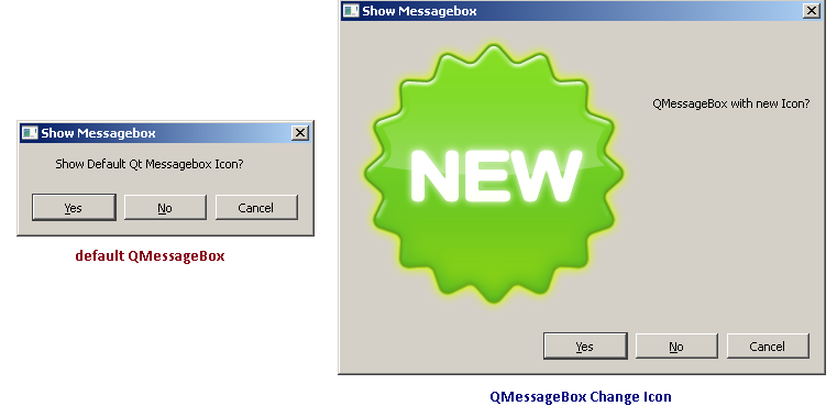 QMessageBox change icon
