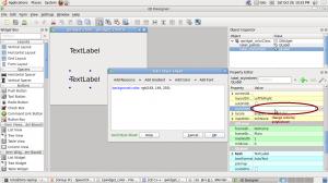 QWidget change color with stylesheet