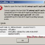 virtualbox cannot register hardisk